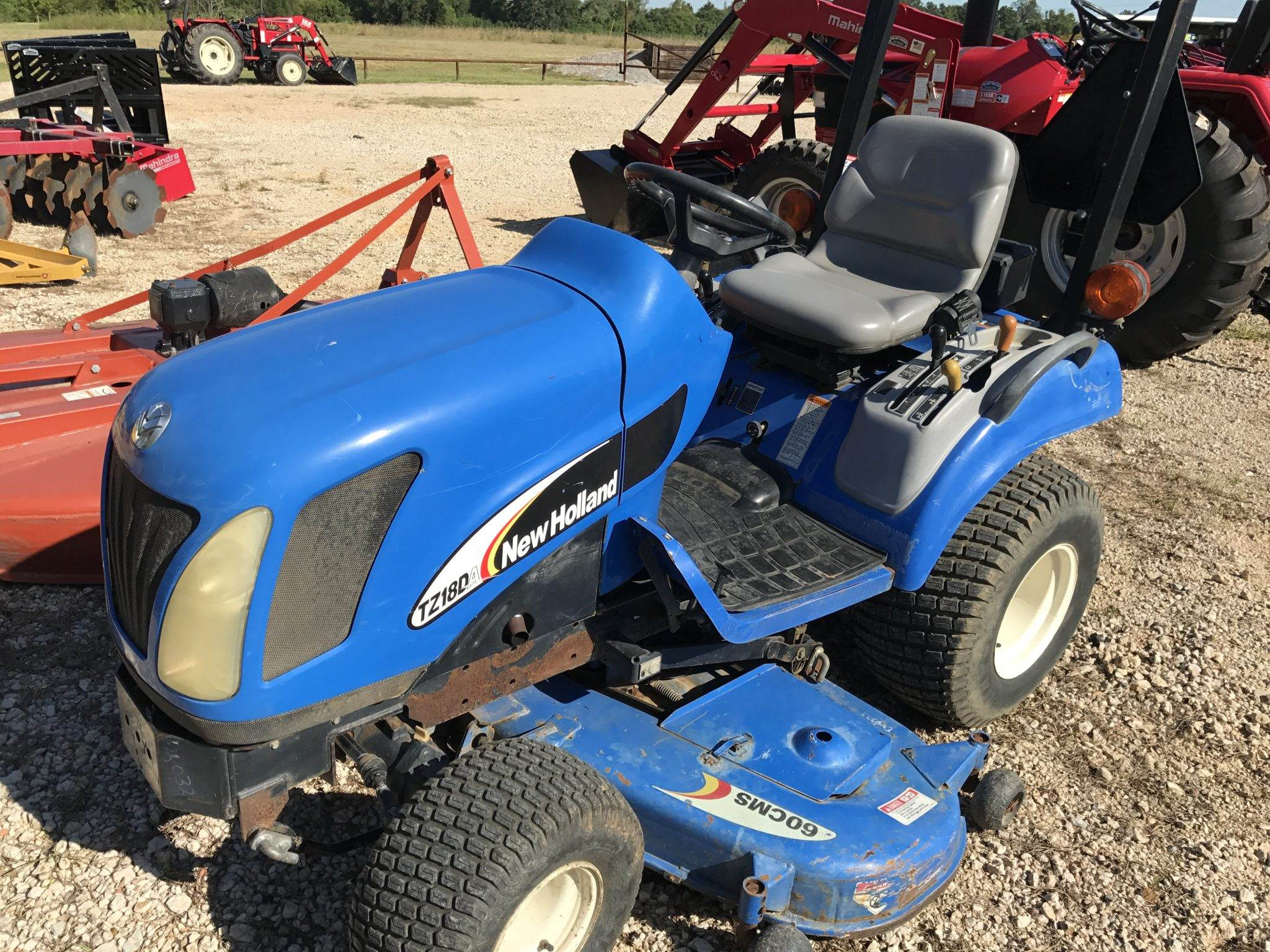 Sold New Holland TZ18DA